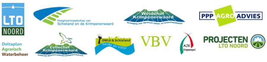 Partners project DAW Krimpenerwaard